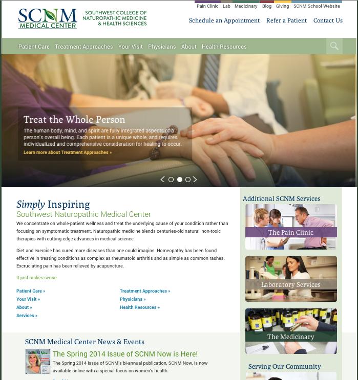 SCNM medical center