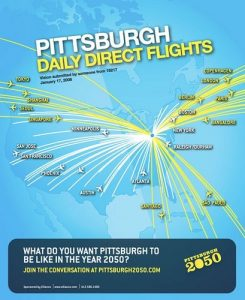 Pittsburgh2050 Direct Daily Flights