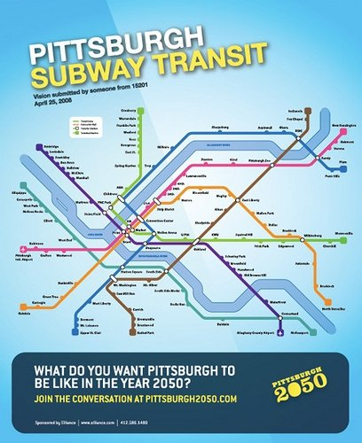 Pittsburgh2050 Subway Transit