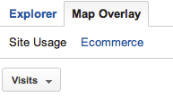 In Google Analytics, go to Audience > Mobile > Devices > Map Overlay