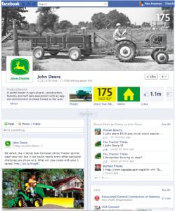 John Deere Facebook Page