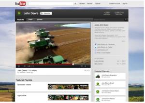 John Deere YouTube Page