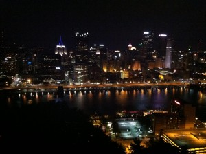 The view from Mt. Washington.