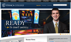 Ithaca College Higher Education Marketing Strategy