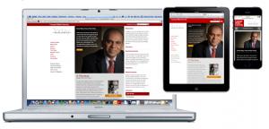 Responsive Web Design Alumni Magazine