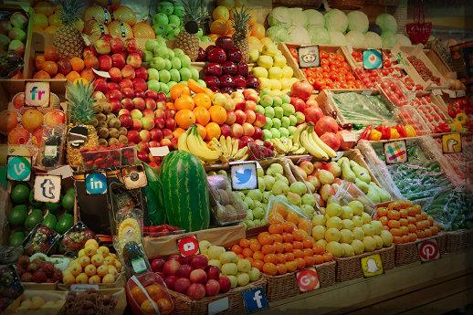 social media supermarket