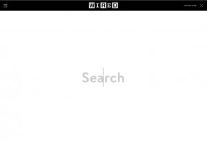 Wired Search Bar
