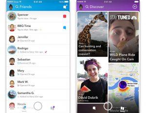 Snapchat Redesign 2017