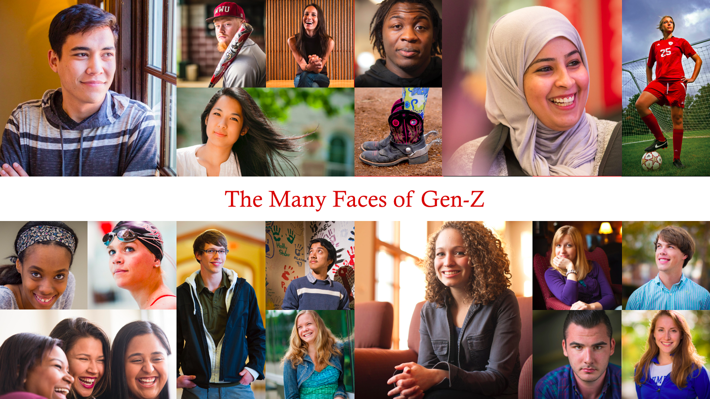 The Many Faces of Gen-Z