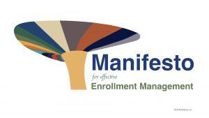 Manifesto for effective enrollment management