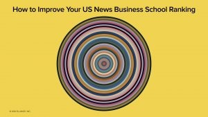 How To Improve Your US News Business School Rankings